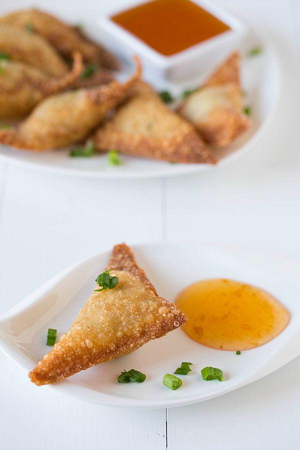 Baked Crab Rangoon Recipe Food Network