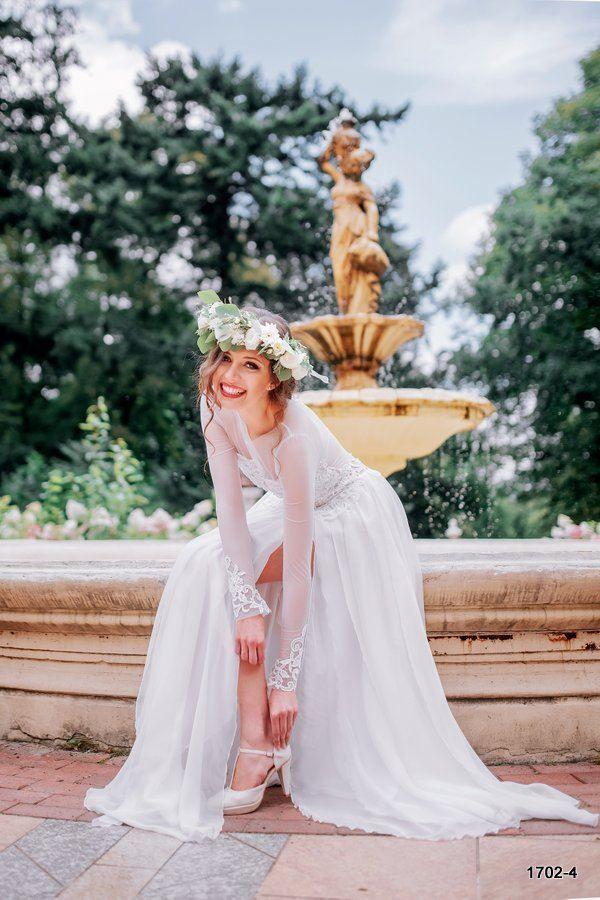 Suknie ślubne kolekcja 2016 Jasmin | Suknie ślubne Poznań - Pracownia Duda-Koprowska #wedding#dresses #najpiękniejszesuknieslubne
