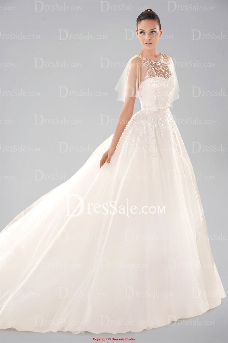 Elegant Sublime One shoulder Wedding Gown with Pleated Bodice and Beads Wedding Dresses