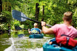 #fitforfun Kanu-Touren in Deutschland #kanutouren #kanufahren