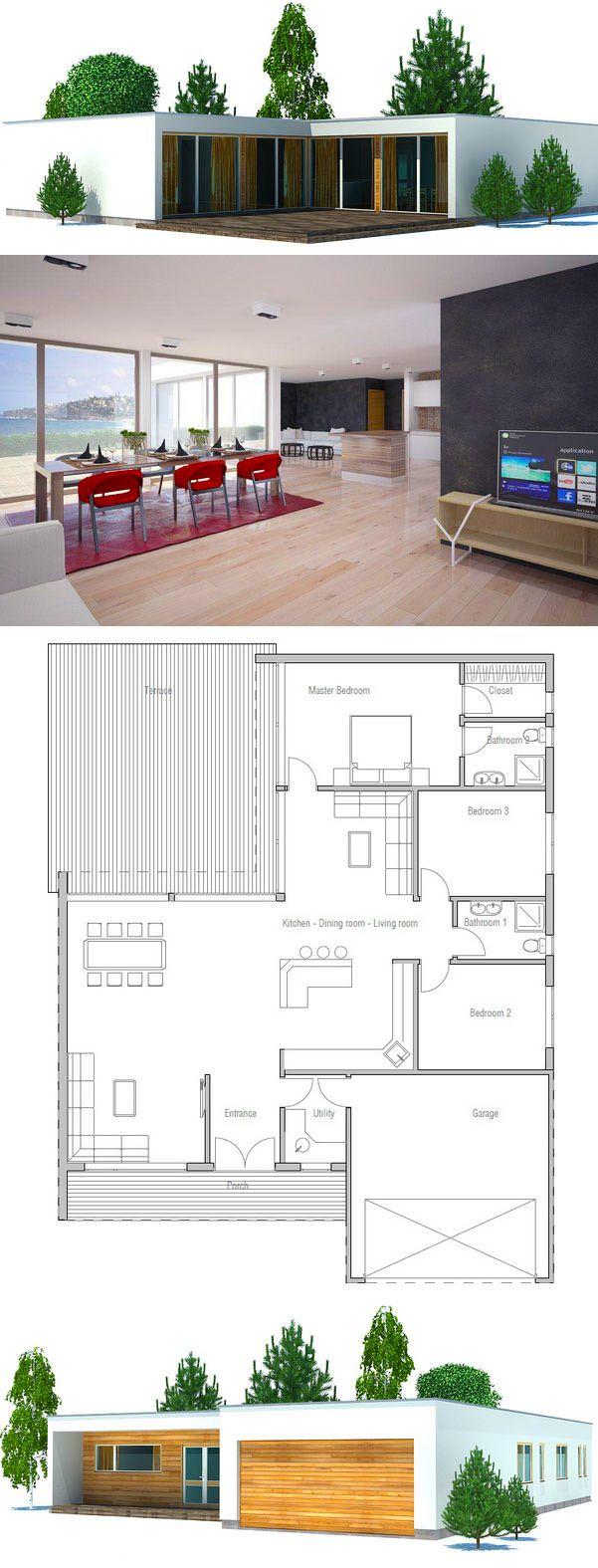 Grundrisse hausbau wohnen strandhaus pläne modernes haus pläne kleines haus pläne moderne häuser kleine häuser einfache grundrisse