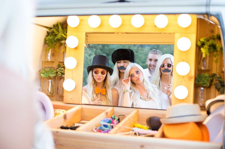 The Photo Booth Bus. Photo booth inside a VW Bus! Based in Utah and serving the western United States! View pricing on photoboothbus.com!