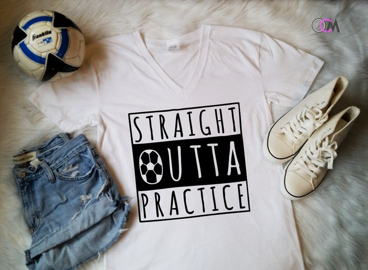 Straight Outta Soccer, Straight outta Practice, Soccer Mom Shirt, Proud Soccer Mom, Shirts for Soccer Moms, Custom Soccer Shirts,Soccer Mama by 1OneCraftyMomma on Etsy