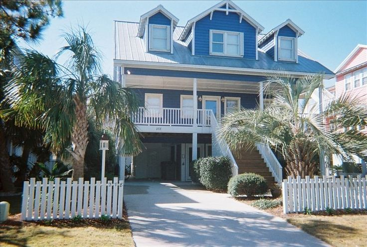 House vacation rental in kure beach from for Beach house vacation ideas
