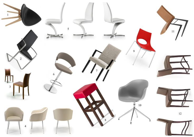 Židle - inspirace / chairs inspiration