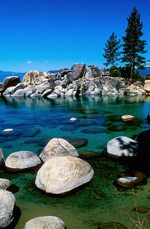 Zephyr Cove in Lake Tahoe. | #MostBeautifulPages