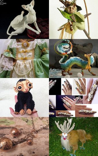 My monkey was added to One Of A Kind Gifts by Carmen Wagner on Etsy
