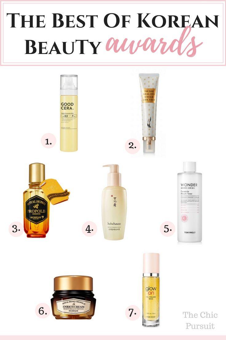 Best Of K-Beauty Awards 2018 | Skin Care | Skin care, Skin tag