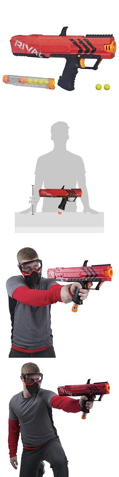 Dart Guns and Soft Darts 158749: Nerf Rival Apollo Xv-700 (Red) -> BUY IT NOW ONLY: $33.81 on eBay!