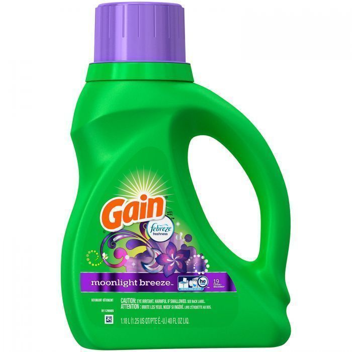 Gain Aroma Boost Liquid Laundry Detergent With Febreze Freshness