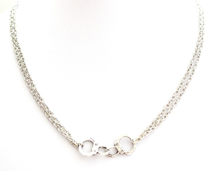 LiLy Bay — Double Chain Handcuffs Necklace