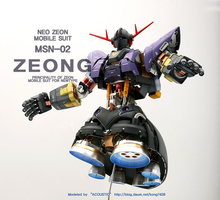MG MSN-02 ZEONG Full Hatch Open Project: Latest Work by ACOUSTIC. Full REVIEW http://www.gunjap.net/site/?p=243271