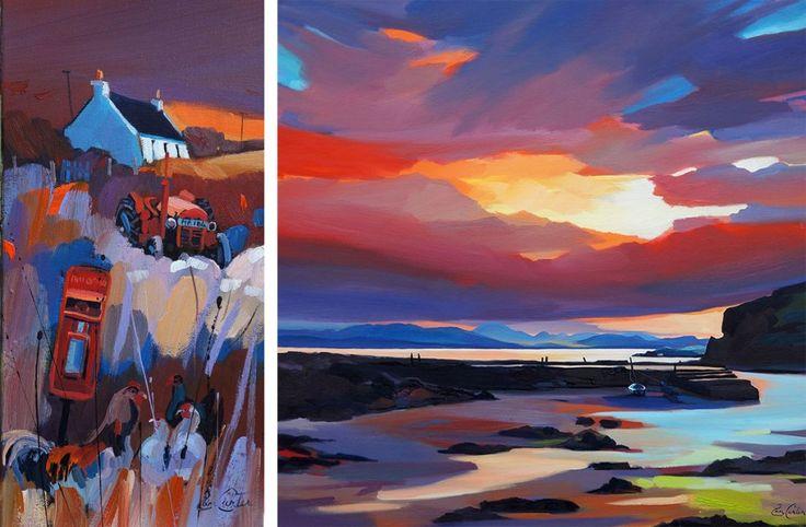 Яркие, запоминающиеся полотна и особая экспрессивная манера живописи Пэм Картер  известны и любимы во всем мире.