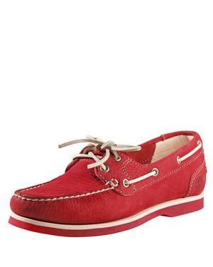 Bootsschuh (rot) von Timberland