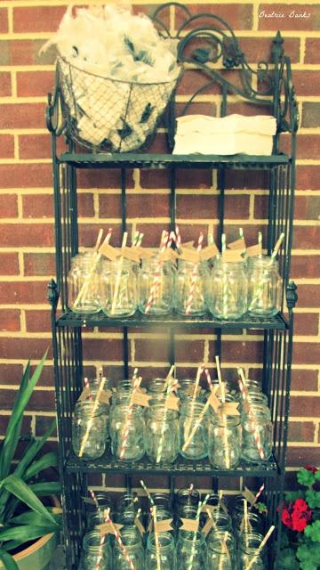 Beatrice Banks Graduation Party Love The Mason Jar For Cups Idea