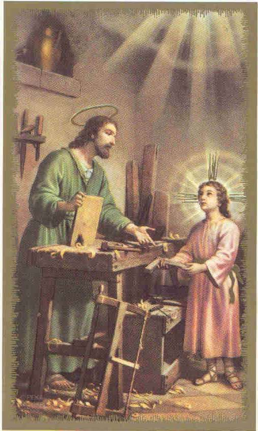 I can count on St. Joseph's intercession for the protection of my family just as he protected Jesus and Mary.    I can count on His intercession in my work because he too worked to support his Holy Family.    I can count on His intercession for my spiritual development as he is the patron of the Universal Church of which I am a part. His virtues are certainly worth emulating.