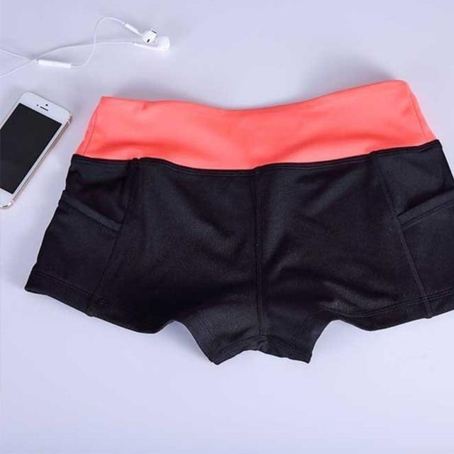 12 Farben Frauen Shorts Sommer elastische Taille sportliche Shorts lässig gedruckt schnell trocknend Shorts für weibliche Fitness kurze Hosen   – Products