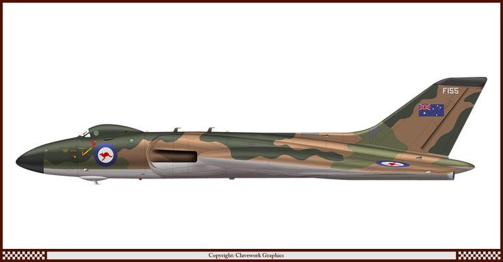 Avro Vulcan B.1 de la RAAF