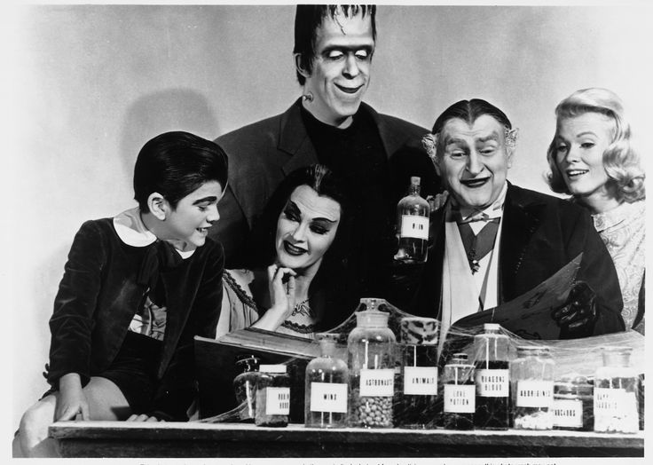 Cast of The Munsters
