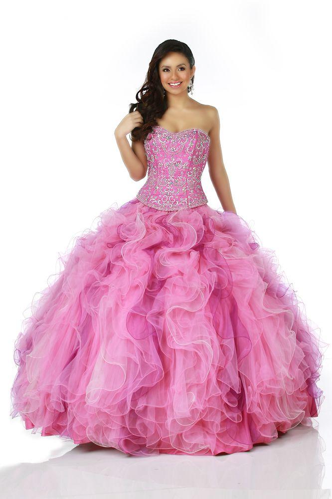 37 best vestidos de 15 images on Pinterest | Ballroom dress, Dress ...