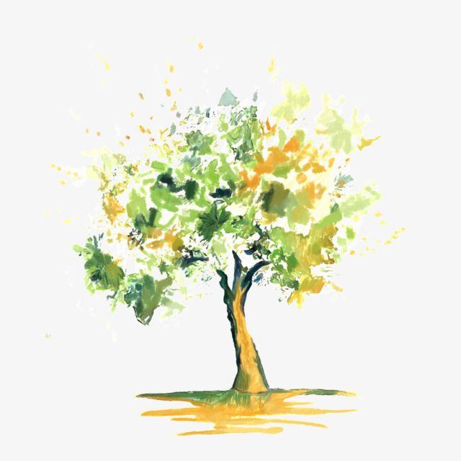 Acuarela Tree Arboles Con Acuarela Acuarela Pintura Acuarela