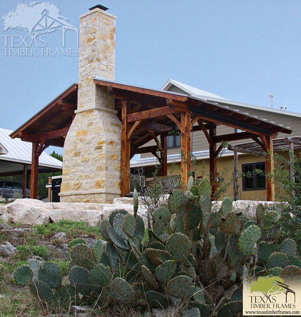 Texas Timber Frame Homes Timber Pavilion Texas Timber