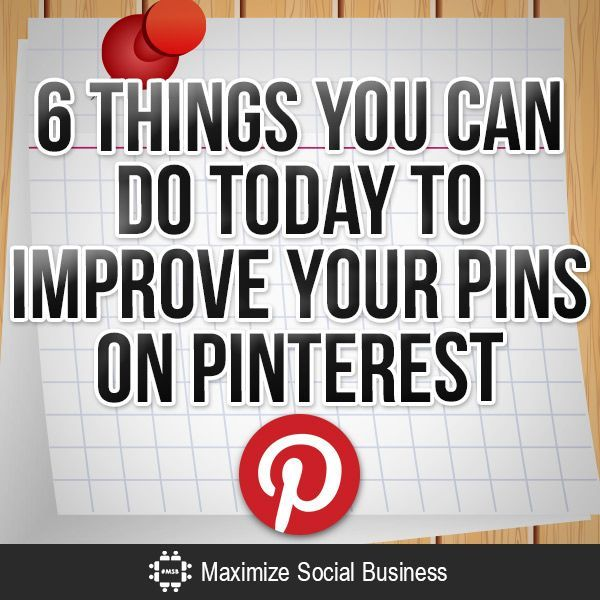 Your business can harness the power of the pin by following this simple checklist to optimize your pins on Pinterest and get them in front of more potential customers. #socialmedia