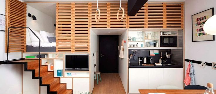 Spacious Micro-Apartment for the Global Nomad: Zoku Loft in Amsterdam