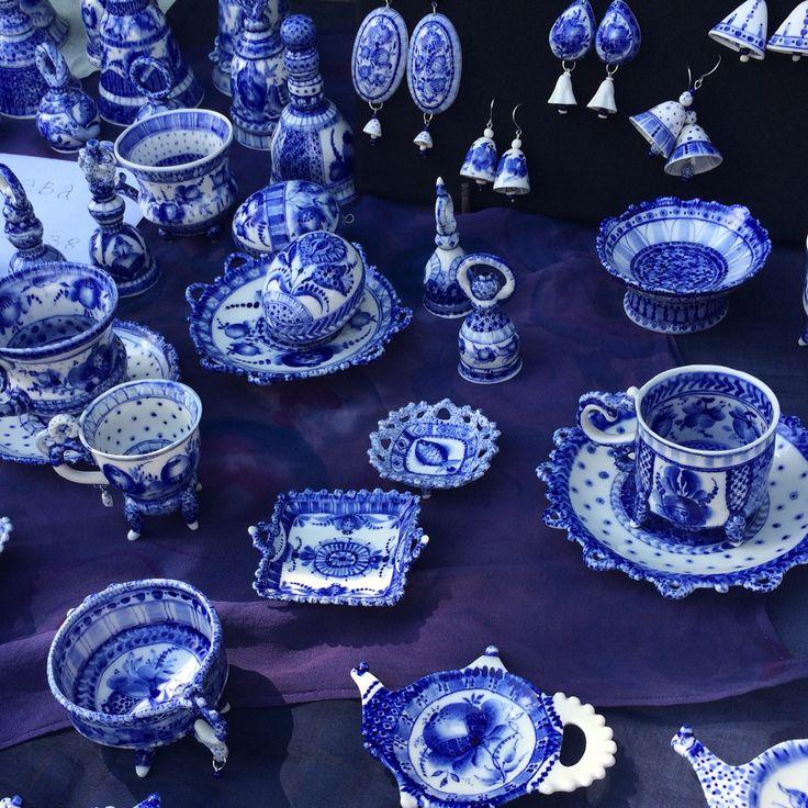 Выставка керамики в усадьбе Кусково. Ждем всех! Сегодня и завтра! #ARTKOZY