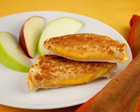 Grilled Cheese Sandwich made in Hamilton Beach Breakfast Sandwich Maker