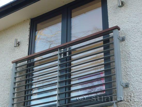 juliet balcony steel slats