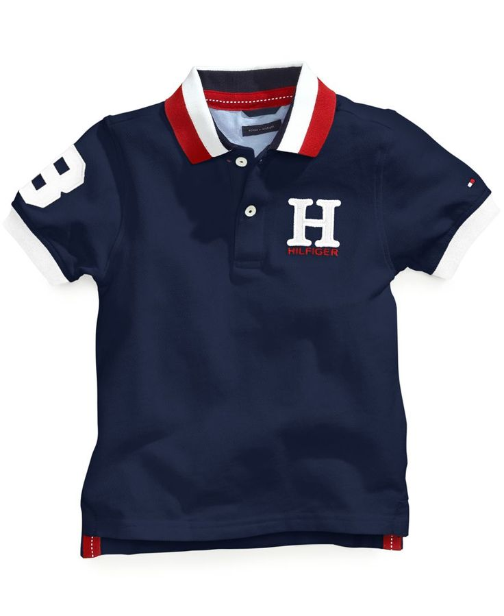 Tommy Hilfiger Boys Matt Polo Big Boys
