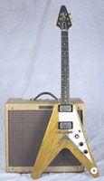 La Gibson Flying V Korina de 1958   Jerrock