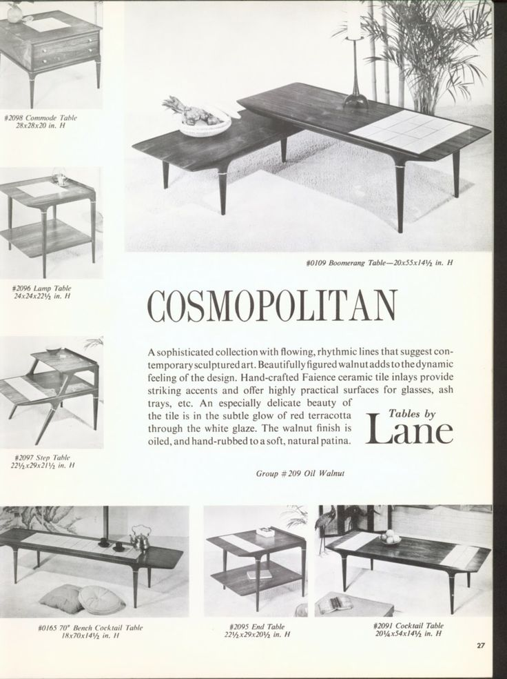 1962 Lane catalog  Cosmopolitan   Group  209  Lane FurnitureRetro  FurnitureModern. 112 best Mid Century Furniture images on Pinterest   Mid century