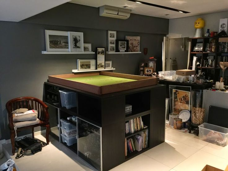 Man Cave War Room : Images about gaming tables on pinterest game
