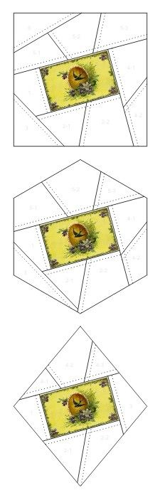 Any Occasion crazy quilt block patterns posted on Janet Stauffacher's Nostalgic NeedleART blog in 2012.