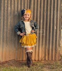 "This place has some really cute little girls clothes priced reasonably. MUSTARD ""RANCH DAY"" SKIRT · A Pocket Full Of Sunshine · Online Store Powered by Storenvy"