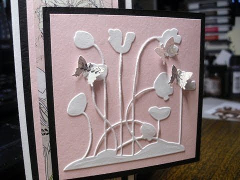 Poppy Patch Sympathy Card - YouTube