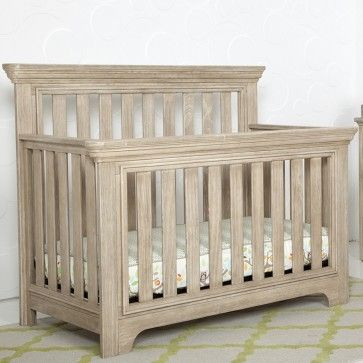 Serta Langley Convertible Crib in Rustic Whitewash: The Serta Langley collection is one of Serta's newest collections for baby.  It was introduced recently and features beautiful furniture pieces designed to complete your baby nursery.  Made with elegant lines and craftsmanship, the Langley collection features several pieces including a crib, double dresser, and a four drawer dresser in 3 finishes, Rustic Grey, Rustic Oak, and Whitewash. The crib can be converted to a toddler bed.