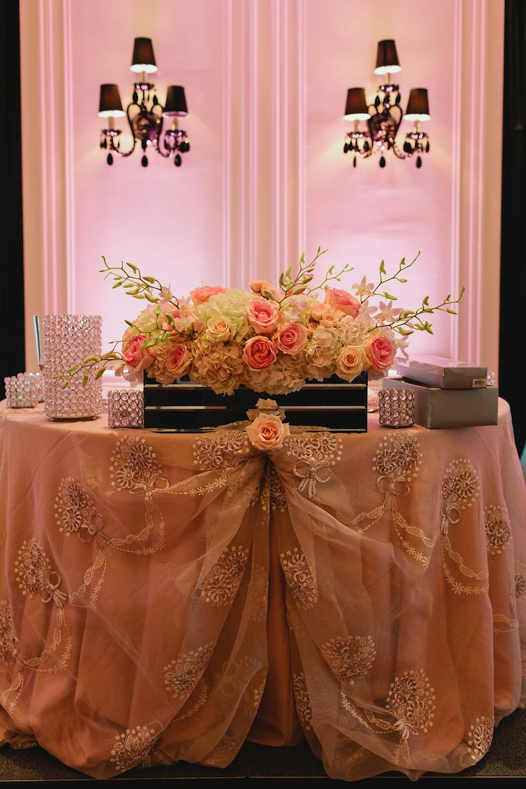 Sweetheart table indeed! Gorgeous decor and floral with the help of FOS! #torontotrump #trumphotel #torontoweddingplanners #torontowedding #fusionevents #kickassweddingplanners