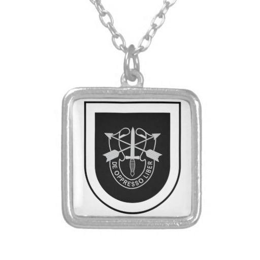 5th Special Forces Custom Necklace