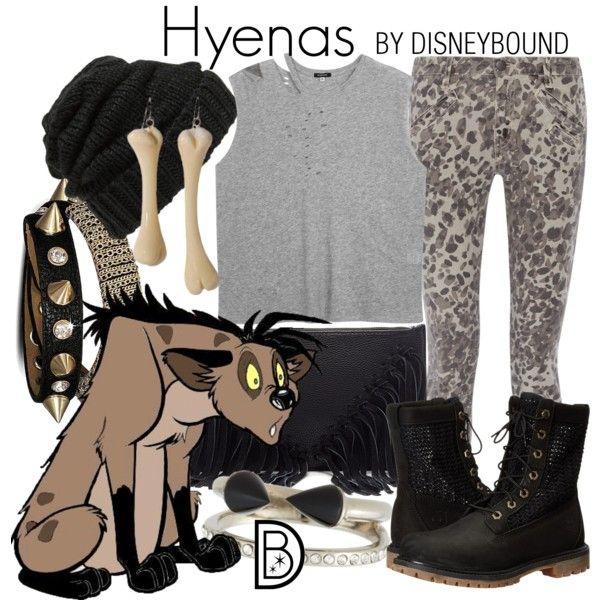 Disney Bound - Hyenas