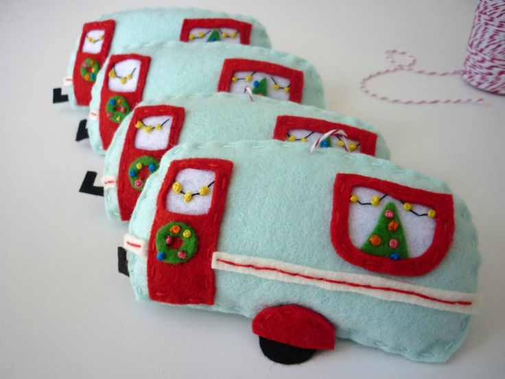 Retro Caravan Christmas Decoration
