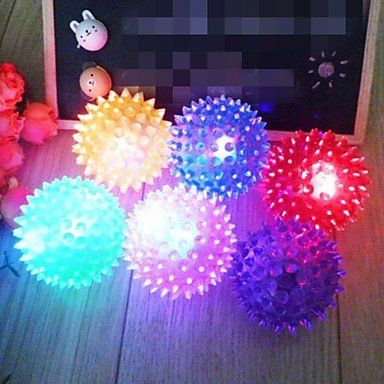 BuW Colorful Environmental Friendly Rubber Pet Elastic Ball Toy for DogsWill light6 x 6cm pet supermarket toys pet warehouse supplies online interactive dog toys *** Details can be found by clicking on the image.(This is an Amazon affiliate link)