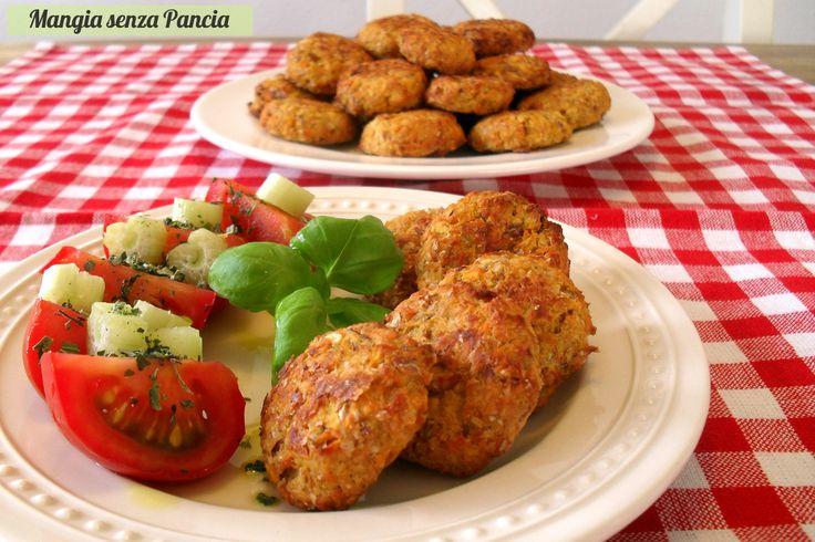Polpettine vegetariane al forno senza uova