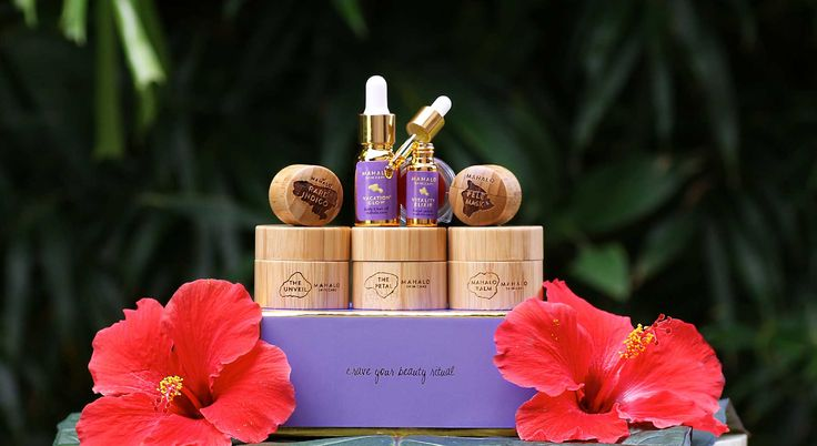 The TASTE of DESIRES gift / travel collection | MAHALO Skin Care