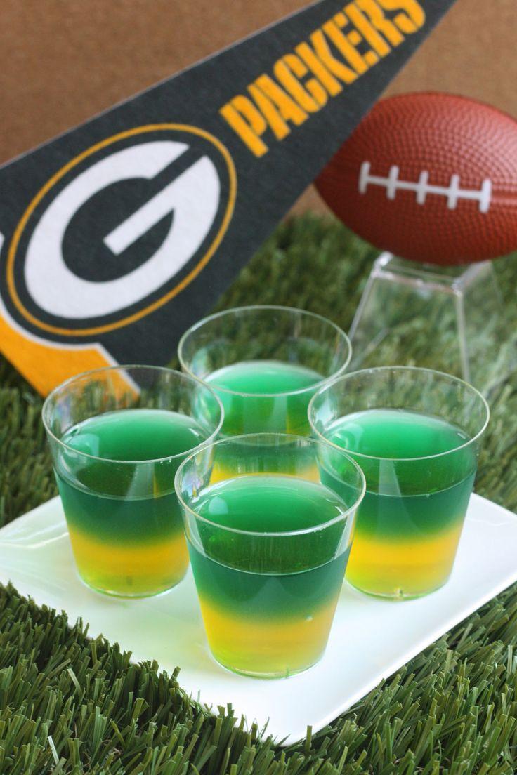 Greenbay Packers JellO Shots Recipe Green bay packers