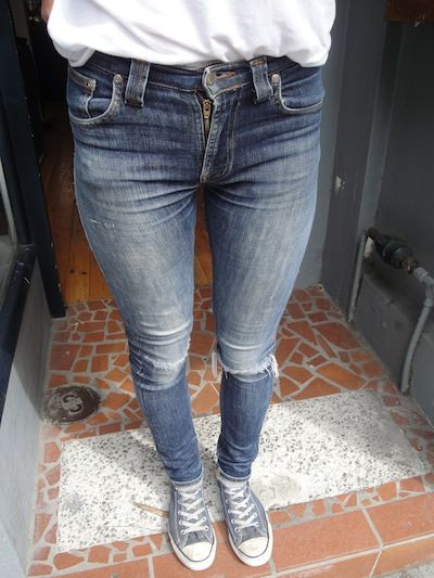 High Kai worn by Bec | Nudie Jeans