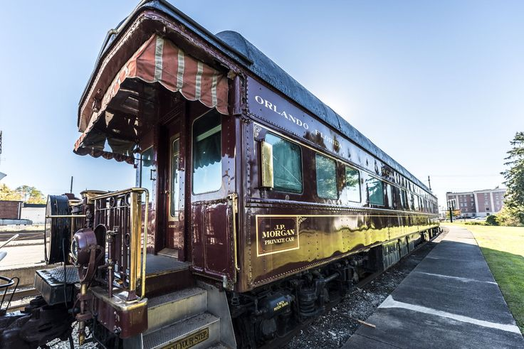 JP Morgan's personal rail car. US $350,000.00 Used in eBay Motors, Other Vehicles & Trailers, Other