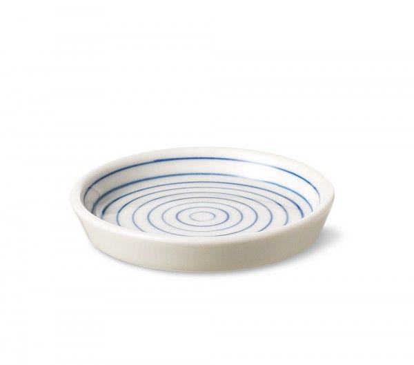 Stripes small plate narrow blue line sr461b - Stripes small plate narrow blue line - collections